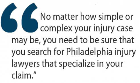 philadelphia injury lawyers